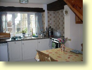 Gateham Cottage kitchen