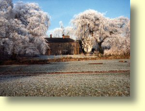 One frosty morning at Gateham Grange - Gateham Cottage - your very own wing of our long limestone farmhouse